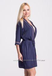 a8dc77d219e38 Стильный женский халат для дома шелковый Хс020н, 480 грн. Халаты ...