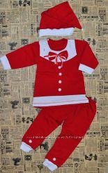 Модный костюм Маленькая снегурочка на 1, 5-4 года