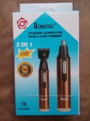 Аккумуляторный Триммер для Носа и Ушей 2 в 1 Domotec