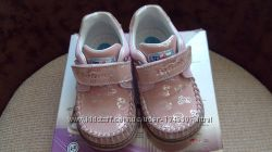 Продам детские кожаные мокасиныTofino Ortopedim 23 размер бу