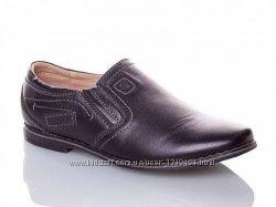 Туфли Kangfu C1005-2 кожа черные 31-36