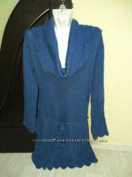 Теплое вязаное платье от Orsay, р. S-M, 44-46