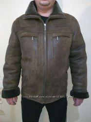 Дубленка зимняя теплая. р. 50-52. зимняя куртка