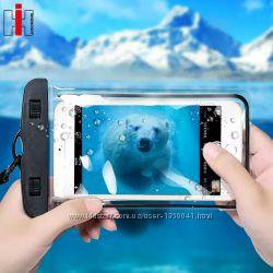 Водонепроницаемый чехол для смартфонов защита IPX8