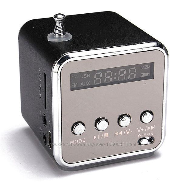 Портативная  Bluetooth колонка TD-V26 стерео FM-радио mp3 USB