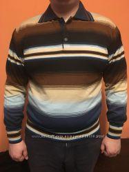 Мужской теплый свитер поло 2 цвета San Fa Турция