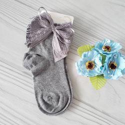 Нарядные демисезонные носочки девочкам. Турция