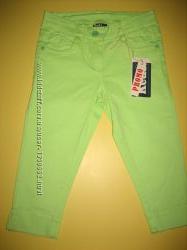 Нові стильні джинсові бріджі для дівчинки