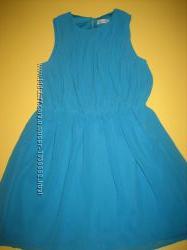 Голубе літнє платтячко