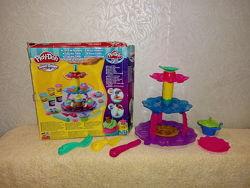 Play-Doh Башня из кексов Hasbro Плей До