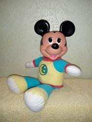 Мягкая игрушка Микки Маус ночник Дисней Mickey Mouse Disney