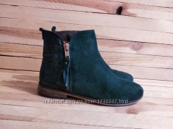 Next демисезонные ботинки из натуральной кожи размер 21 см 22 см