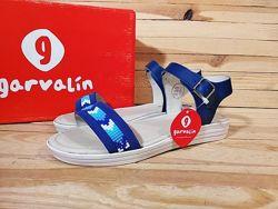 Garvalin босоножки сандалии натуральная кожа Италия 24 см