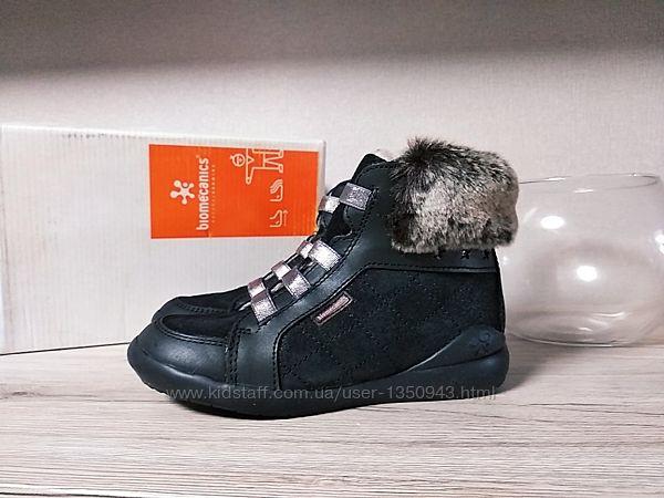 Biomecanics ботинки натуральная кожа мех