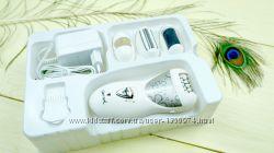 Аккумуляторная женская бритва-эпилятор с пемзой 4 в 1
