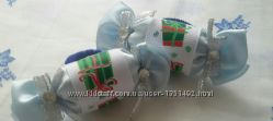 Резиночки новогодние конфетки Minnie Mouse Hello Kitty