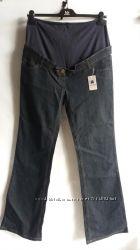 Женские стрейчевые джинсы клёш   для беременных Kiabi