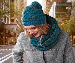 Качественный  комплект шапка снуд немецкого бренда     TCM Tchibo