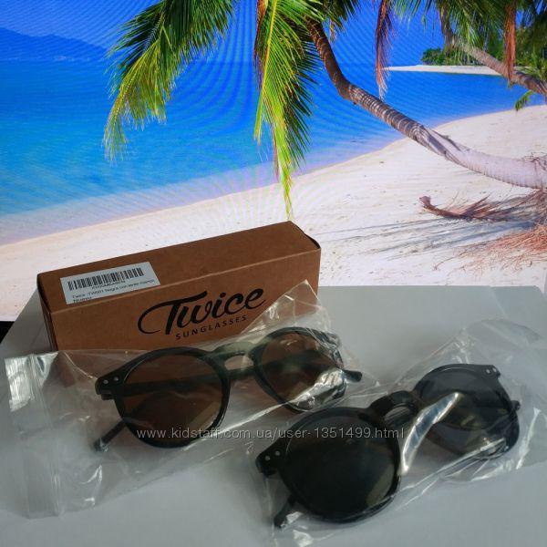Солнцезащитные очки Panto  испанского бренда Europe Eyewear