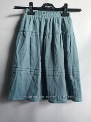 Длинная юбка из гофрированного трикотажа на девочку 4, 5, 10 лет  Kiabi, ори