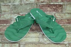 Новинка Мужские зеленые вьетнамки шлепанцы