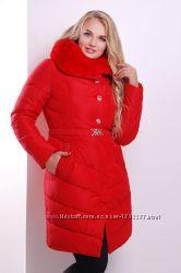 Зимова куртка 168 , червона 46-48 , 52 розміру , чорна 44- 46 розміру.