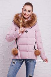 Куртка 17- 128 , колір пудра 42 , 44, 48, 50 розмір.