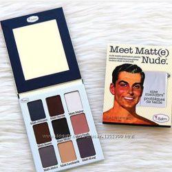 Палетка Теней TheBalm Meet Matte Nude Eyeshadow Palette