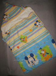 Теплый конверт в коляску или санки Disney