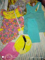 Пакет одежды на девочку 1-2года, смотрите все фото