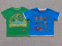 Наши футболки для мальчика на 6-9 и 9-12 мес. есть новые