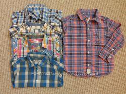 Яркие рубашки для маленького модника на праздники, на 1-3 года и дольше