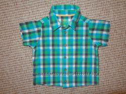 Модные рубашечки на малыша на 6-9-12 мес.