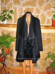 Шикарное пальто-монто от американского дизайнера JJB BENSON полу шерсть