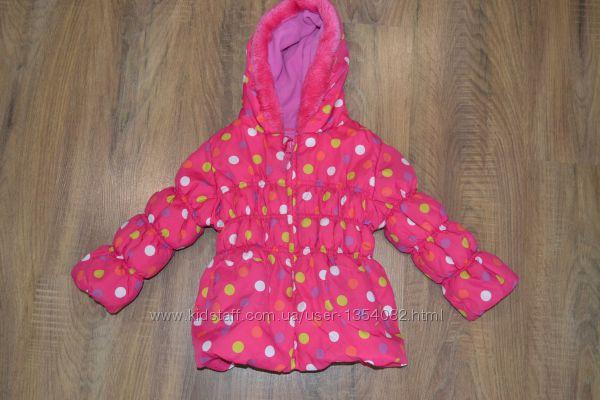 TU 1 1. 2-2года куртка на девочку демисезонная еврозима