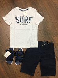 Комплект H&M шорты футболка