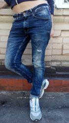 Джинсы зауженные Zara Man skinny