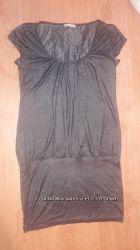 Платье цвета мокрого асфальта. Размер М.