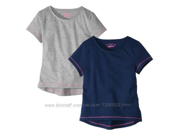 Футболка, футболки в комплекте 2 шт. , 122-128, Германия
