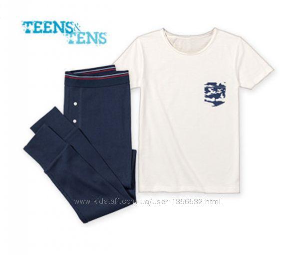 Пижама трикотажная, хлопок, 134-140, Teens&tens, Германия