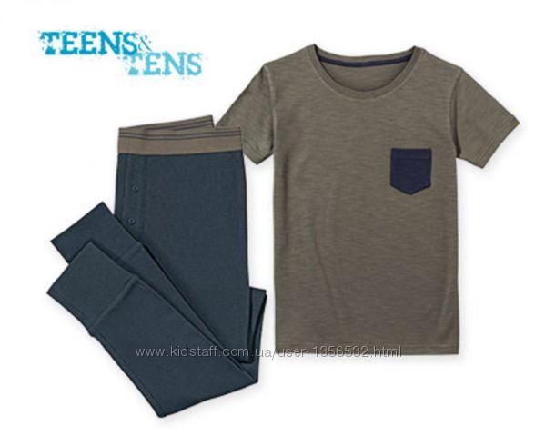 Пижама трикотажная, хлопок, 146-152, Teens&tens, Германия