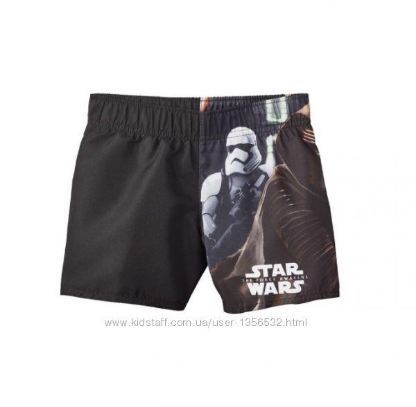 Плавки, шорты для купания, 98-104, Star Wars, Германия