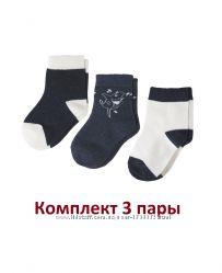 Носки комплект 3 пары, 23-26, 27-30, Lupilu, Германия