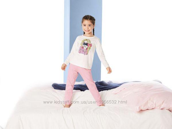 Пижама трикотажная, хлопок, 98-104, 110-116, Германия