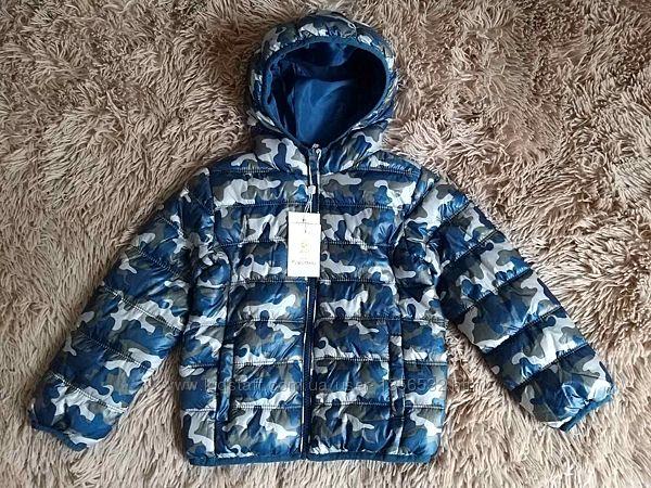 Куртка утепленная демисезонная стеганная, 98, Италия