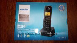 Радиотелефон philips d210