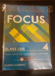 Focus 4 class cd аудиодиски к учебнику английского языка