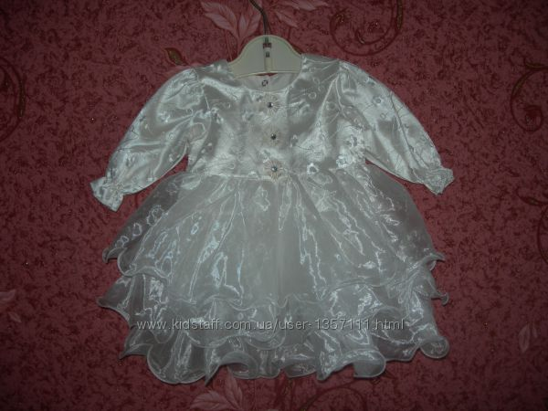 Нарядное платье baby bess