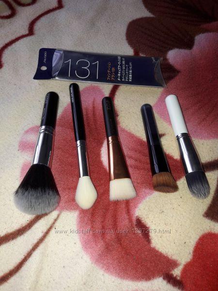 Кисти zoeva и shiseido