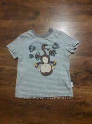 Красивая футболка на 1, 5-2 года 86-92 Bembi